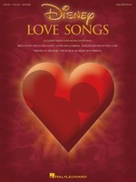 Disney Love Songs - 2nd Edition - Various - Guitar|Piano|Vocal Hal Leonard Piano, Vocal & Guitar