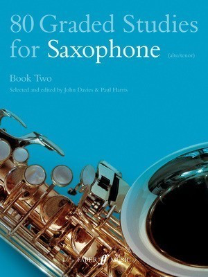 80 Graded Studies for Saxophone Book 2 - Saxophone John Davies|Paul Harris Faber Music - Adlib Music