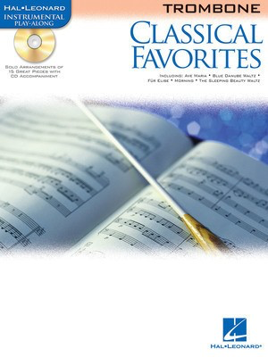 Classical Favorites - for Trombone - Various - Trombone Hal Leonard /CD