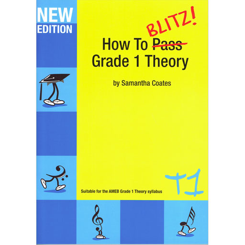 How to Blitz Theory Grade 1 - Student Book by Coates T1