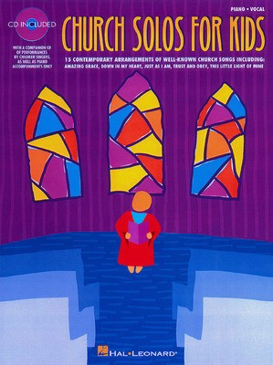 Church Solos for Kids - Various - Vocal Hal Leonard Performance/Accompaniment CD /CD