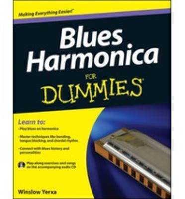 Blues Harmonica For Dummies - Harmonica Winslow Yerxa /CD