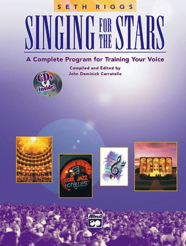Singing for the Stars - Book/2 CDs by Riggs Alfred 3379
