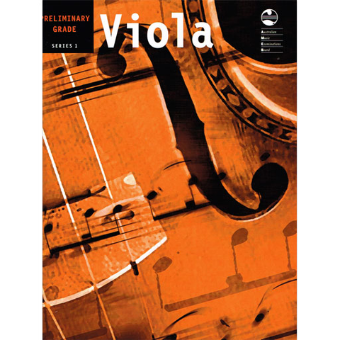 AMEB Series 1 Preliminary Grade - Viola/Piano Accompaniment 1202071639