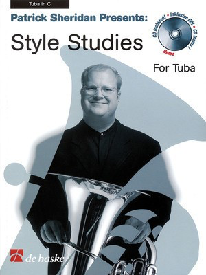 Patrick Sheridan Presents Style Studies - Tuba in C (B.C.) - Tuba De Haske Publications /CD