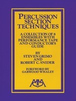 Percussion Ensemble Techniques - Bob Snider|Steve Grimo - Meredith Music Percussion Ensemble Book/Cassette