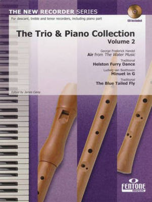 The Trio & Piano Collection,Volume 2 - Recorder Fentone Music Recorder Trio /CD
