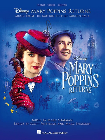 Mary Poppins Returns: Music From The Motion Picture Soundtrack - Piano/Vocal/Guitar PVG Hal Leonard 285401