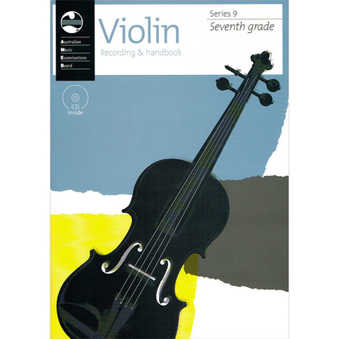 AMEB Series 9 Grade 7 - Violin CD Recording & Handbook 1202728047
