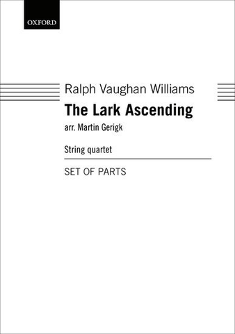The Lark Ascending - Ralph Vaughan Williams - String Quartet - Parts - Oxford University Press