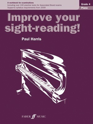Improve your sight-reading! Piano 4 - Paul Harris - Piano Faber Music - Adlib Music