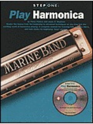 Step One Play Harmonica Bk/Cd - Harmonica Wise Publications