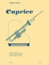 Caprice No. 1 Op. 47 - for Trumpet and Piano - Eugene Bozza - Trumpet - Alphonse Leduc