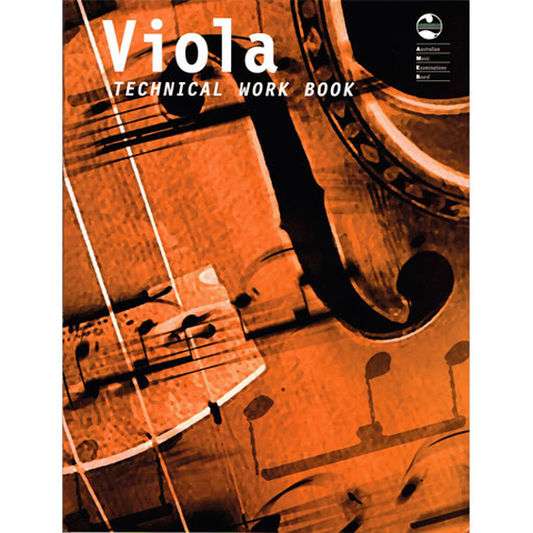 AMEB Technical Work Book - Viola Book New Edition 1202075939