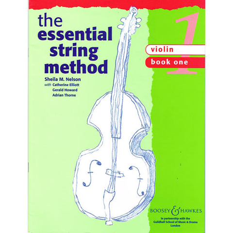 Essential String Method Book 1 - Violin by Nelson Boosey & Hawkes M060105029