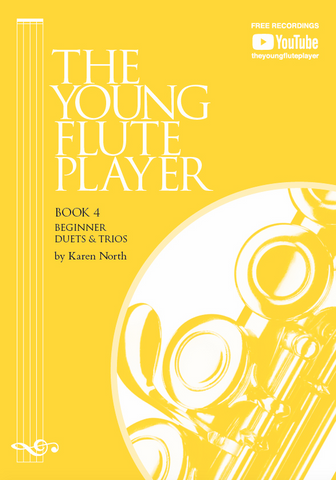 The Young Flute Player Book 4 - Beginner Duets & Trios - Karen North - Flute Allegro