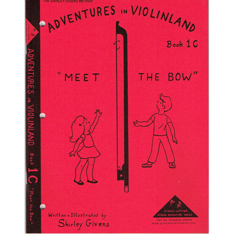 Adventures in Violinland Book 1C - Violin by Givens SS1C