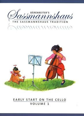 Early Start on the Cello, Volume 1 - Cello Egon Sassmannshaus|Kurt Sassmannshaus Barenreiter - Adlib Music