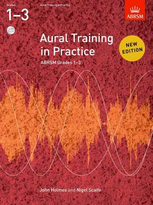 Aural Training in Practice, ABRSM Grades 13, with 2CDs - New edition - John Holmes|Nigel Scaife - ABRSM /CD - Adlib Music