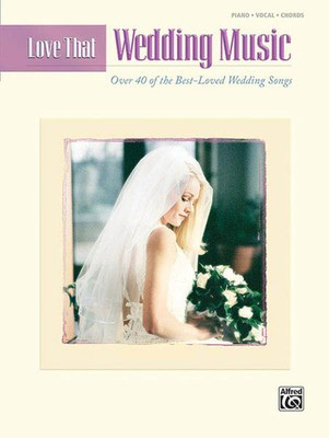 Love That Wedding Music - Hal Leonard Piano, Vocal & Guitar