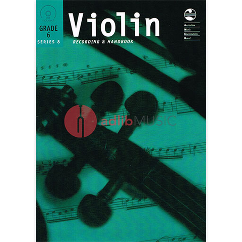 Violin Series 8 - Recording and Handbook Grade 6 - Violin AMEB /CD