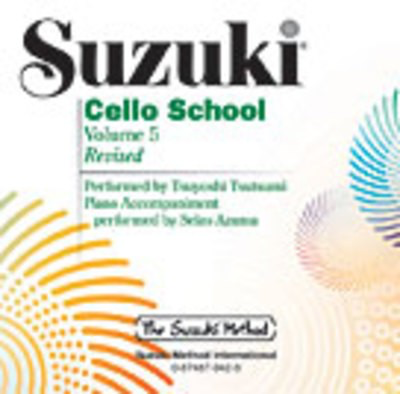 Suzuki Cello School CD, Volume 5 - Cello Summy Birchard CD - Adlib Music