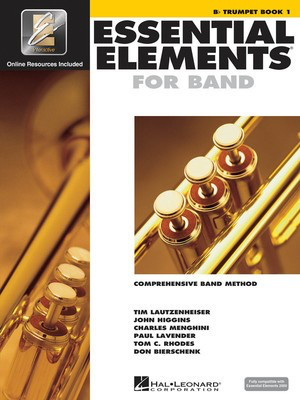 Essential Elements for Band - Book 1 with EEi - Bb Trumpet - Trumpet Charles Menghini|Donald Bierschenk|John Higgins|Paul Lavender|Tim Lautzenheiser|Tom C. Rhodes Hal Leonard /CD-ROM - Adlib Music