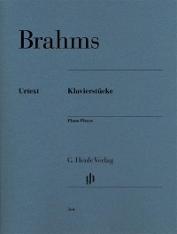 PIANO PIECES [REPLACES HN036] - BRAHMS - PIANO - HENLE