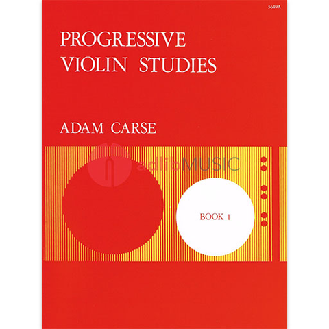 Progressive Violin Studies Book 1 - First Position - Adam Carse - Stainer & Bell