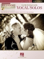 Wedding Vocal Solos - Wedding Essentials Series for Low Voice - Vocal Low Voice Hal Leonard Performance/Accompaniment CD /CD