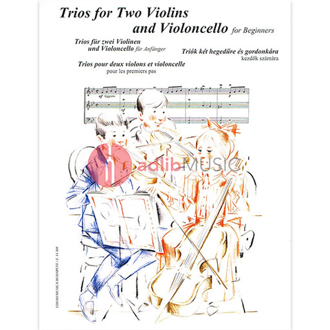 TRIOS FOR BEGINNERS FOR 2 VIOLINS AND CELLO - TRIOS - EMB