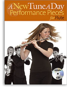 A New Tune A Day Performance Pieces for Flute - (CD Edition) - Flute - Boston Music