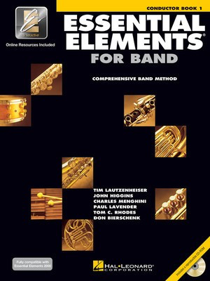 Essential Elements for Band - Book 1 with EEi - Conductor's Score - Charles Menghini|Donald Bierschenk|John Higgins|Paul Lavender|Tim Lautzenheiser|Tom C. Rhodes Hal Leonard Score/CD - Adlib Music