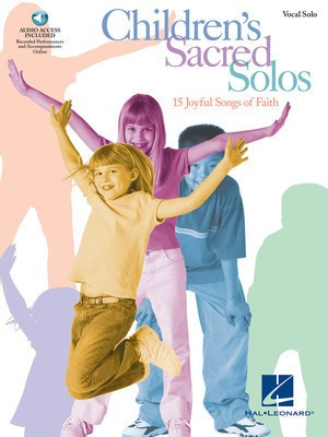Children's Sacred Solos - Various - Vocal Hal Leonard Accompaniment CD /CD