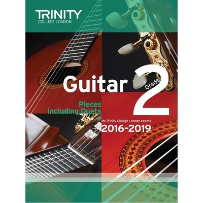 Guitar Exam Pieces Grade 2 2016-2019 - Various - Classical Guitar|Guitar Trinity College London - Adlib Music
