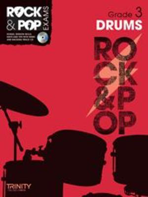 Rock & Pop Exams: Drums - Grade 3 - Book with CD - Drums Trinity College London /CD