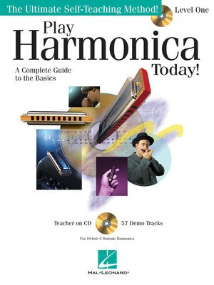 Play Harmonica Today! - Level 1 - Harmonica Lil' Rev Hal Leonard /CD