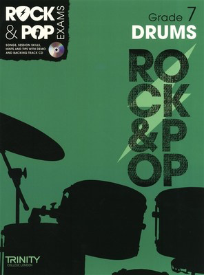 Rock & Pop Exams: Drums - Grade 7 - Book with CD - Drums Trinity College London /CD