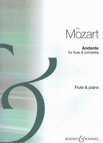 Andante in C Major K.315 - arrangement for flute and piano - Wolfgang Amadeus Mozart - Flute Boosey & Hawkes