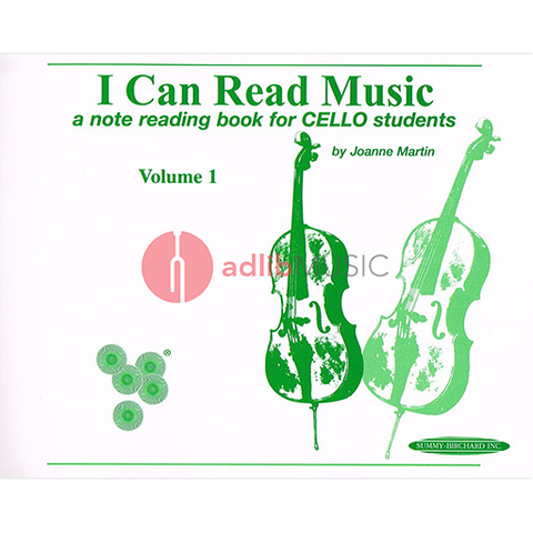 I Can Read Music Vol 1 Cello - Marin Joanne - Summy Birchard