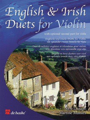 English & Irish Duets - for Violin with Optional Second Part for Viola - Viola|Violin Martine Mussies|Nico Dezaire De Haske Publications String Duo
