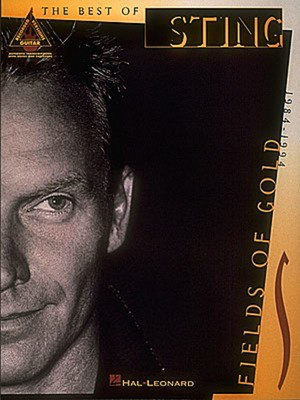 Sting - Fields of Gold - Guitar Hal Leonard Guitar TAB with Lyrics & Chords