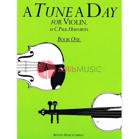 A Tune A Day for Violin - Book 1 - Paul Herfurth - Boston Music
