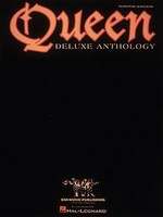 Queen - Deluxe Anthology - Guitar|Piano|Vocal Hal Leonard Piano, Vocal & Guitar - Adlib Music