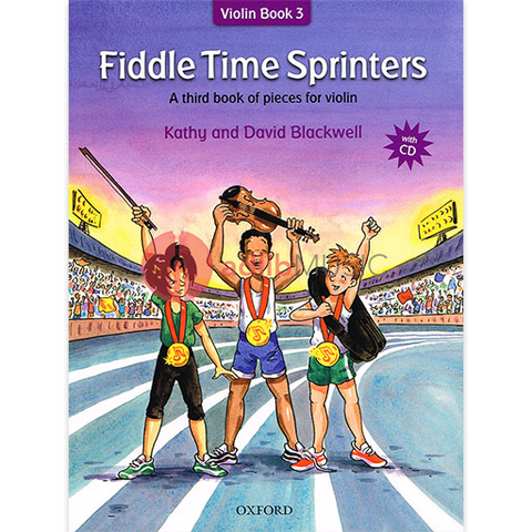 Fiddle Time Sprinters Book & CD - A third book of pieces for violin - David & Kathy Blackwell
