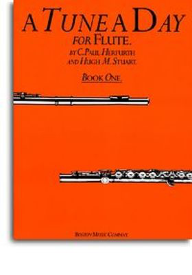 A Tune A Day for Flute - Book 1 - Flute Hugh Stuart|Paul Herfurth Boston Music - Adlib Music