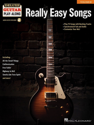 Really Easy Songs - Guitar - Deluxe Guitar Play-Along Volume 2 - Online Audio - Hal Leonard