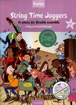 String Time Joggers Teacher's pack - 14 pieces for flexible ensemble - David Blackwell|Kathy Blackwell - Oxford University Press Teacher's Manual - Adlib Music