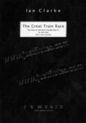 The Great Train Race - (C Foot Version) - Ian Clarke - Flute I C Music Flute Solo - Adlib Music