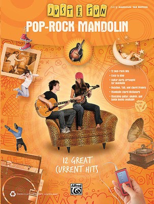 Pop-Rock Mandolin - Just for Fun Series - Guitar Hal Leonard Easy Guitar